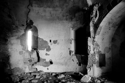 Restes de l'església d'Ivorra