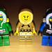LEGO Collectible Minifigures Series 5 Ice Fisherman vs  Arctic
