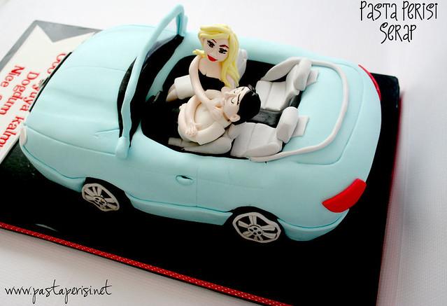 Mersedes E serisi cabrio pastası