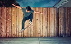 The Ollie (isayx3) Tags: wood fence nikon flash aaron ring ollie skate skateboard spitfire trucks extension 24mm nikkor studios alienbee tones f28 d3 ringflash tensor kenko 14x abr800 plainjoe isayx3 plainjoephotoblogcom
