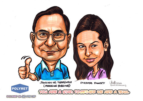 Caricatures for Polymet - 3