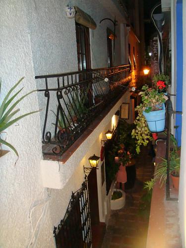 Vistas desde el balcón superior