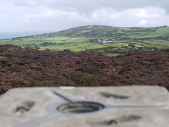 View from a triangulation point on Anglesey (Smabs Sputzer (1956-2017)) Tags: uk wales map cymru mon survey trig ordnance anglesey triangulation ynys