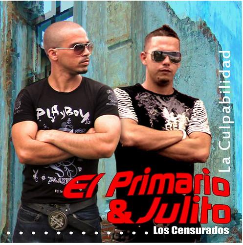 El Primario y Julito portada de su ultimo disco titulado La Culpabilidad