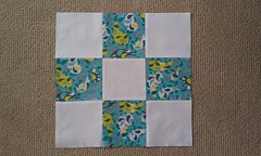 nine patch: birthday blocks
