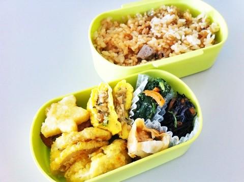 今日のお弁当 No.194 – 炊き込みご飯