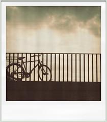 (ardiillita) Tags: bridge copenhagen polaroid bicicleta pola bycicle
