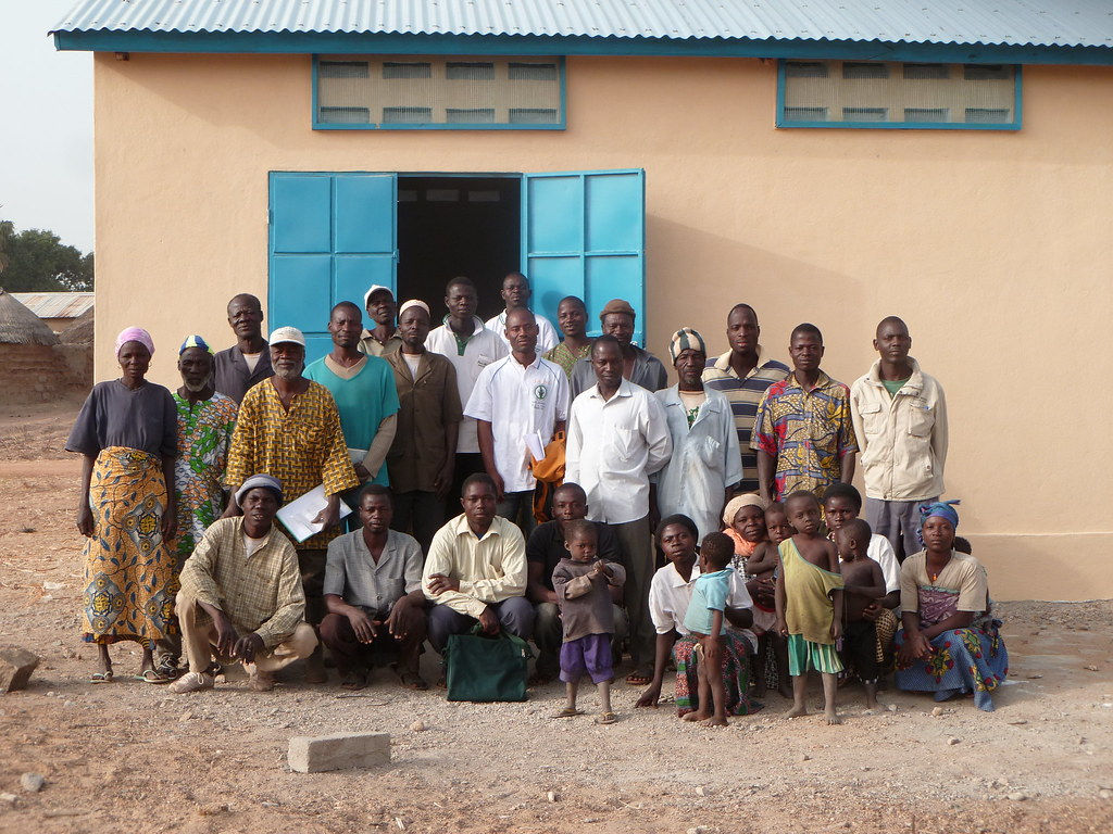 Magasin de stockage de céréales construit par AVSF Togo