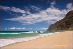 Polihale Beach Kauai 0310231 (Greg Vaughn) Tags: park travel beach nature landscape outdoors island hawaii islands coast sand empty sandy scenic parks nobody pacificocean kauai hawaiian beaches deserted napali gregvaughn polihalebeachpark 0310231