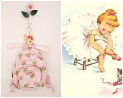 Little things of childhood... (citrusandorange) Tags: pink kids vintage ballerina decor girlsbedroom cathkidston tolehanger