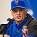 Terry Collins at the podium