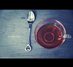 Tea Time. (My Inner Child) Tags: cup tea teacup teaspoon