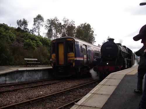 Glenfinnan - Two Trains