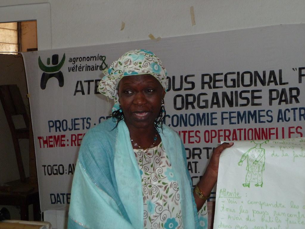 Particpante Nigérienne - Atelier GENRE Kara Togo
