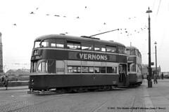 15/09/1956 - Pier Head, Liverpool. (53A Models) Tags: liverpool tram 1956 pierhead 275