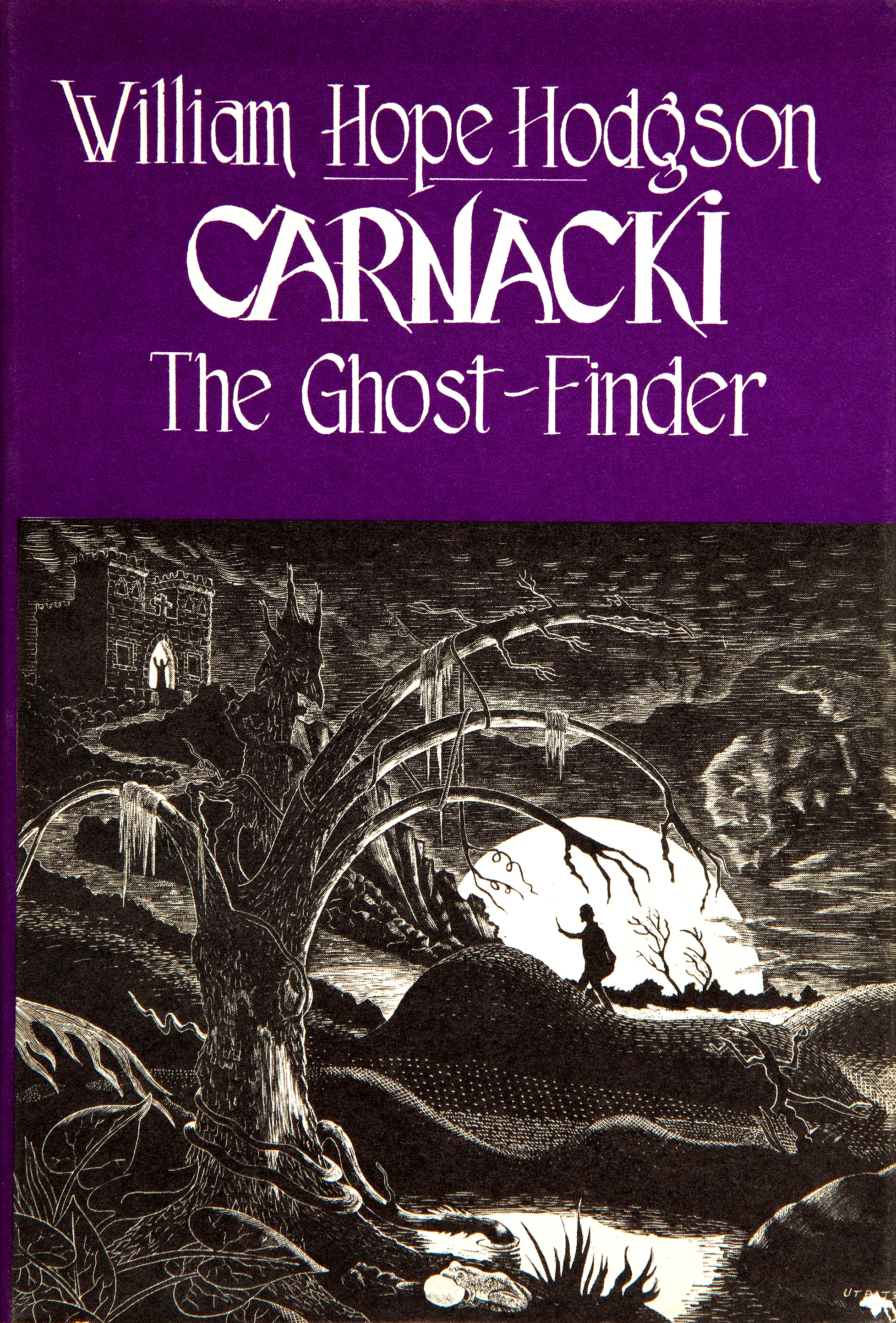 Frank Utpatel cover for William Hope Hodgson's Carnacki, the Ghost-Finder, 1947