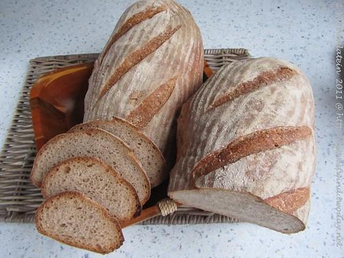 Mellow Bakers: Weizenmischbrot(75/25) mit Vollkornanteilen 001