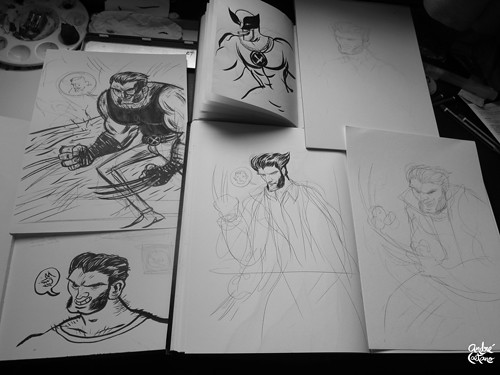 Wolverine Fanart - Studies