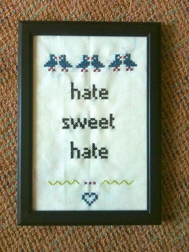 hate sweet hate
