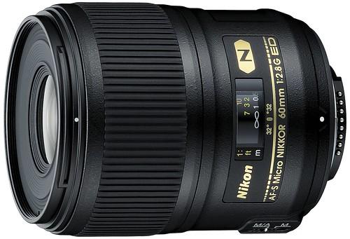 Nikon 60mm f/2.8G AF-S Micro-NIKKOR