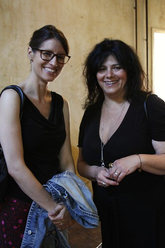Heather Stimmler-Hall and Alisa Morov at Cupcake Camp