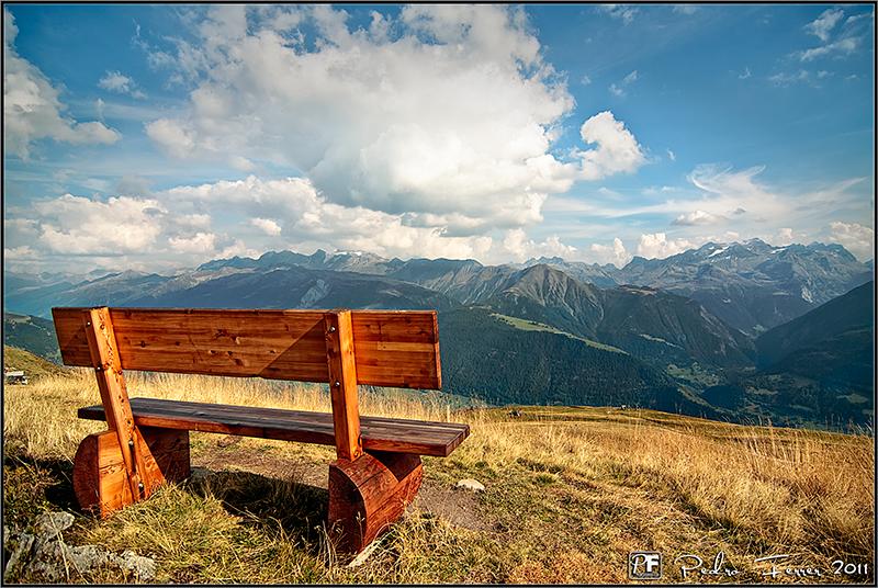 Suiza - Fiescheralp - El cazador de bancos - Bench Hunter part XLI