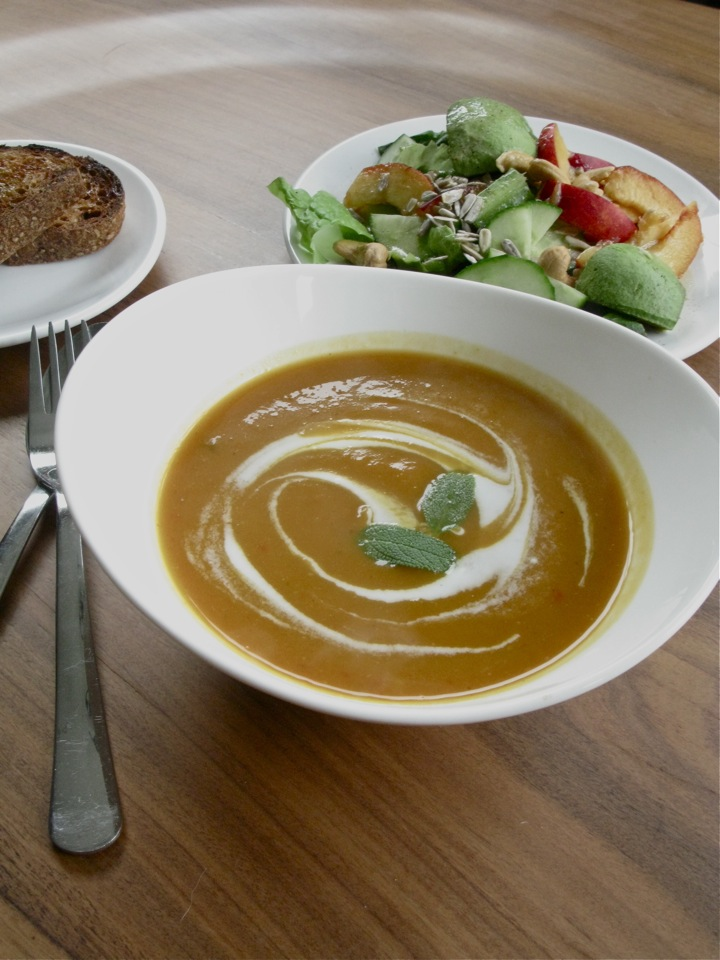 pumpkin yam soup 001