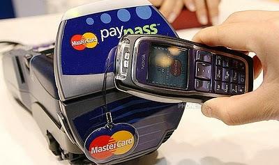 NFC Phone phone paypass mastercard