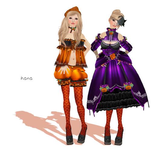 "--Umi Usagi--  ""Halloween Chiffon""(BOXED)"