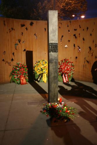 Gedenkstehle Oktoberfestanschlag