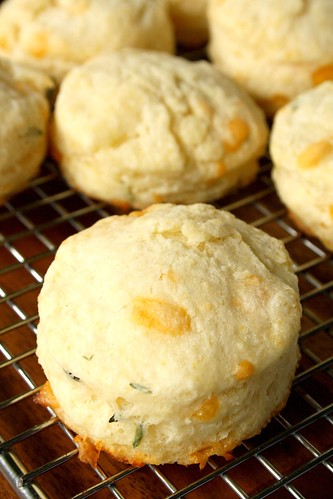 Tyler's Better Buttermilk Biscuits with Thyme & Cheddar