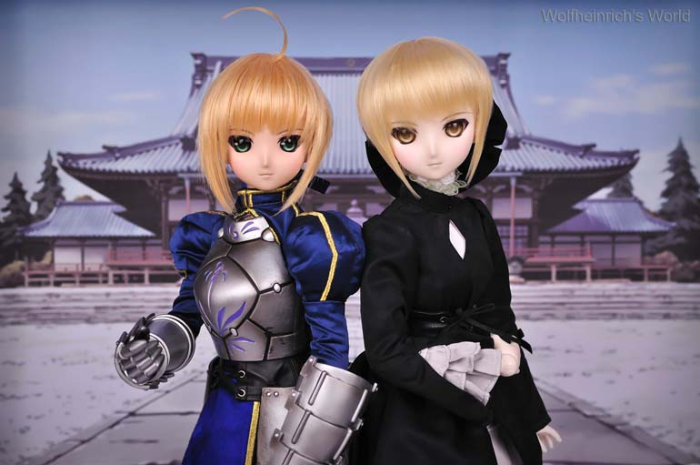 [Explore] Saber セイバー Dollfie Dream with Saber Alter セイバーオルタ Dollfie Dream