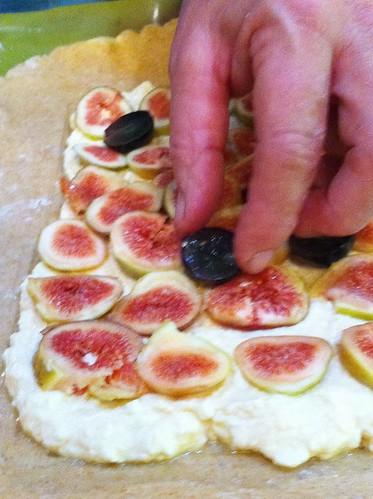 Tarte aux figs