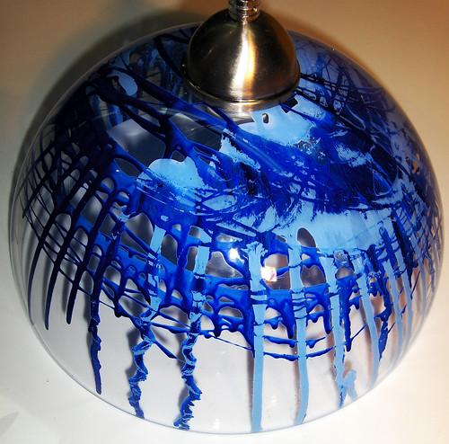 Lampara Azul by Ludica Iluminacion