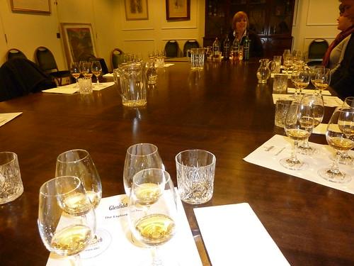 Whisky Tasting at Glenfiidich