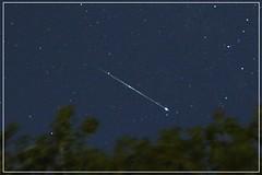 Stella Cadente (Andrea Proverbio) Tags: stella italy lake como night lago star italia di notturno cometa brunate cadente