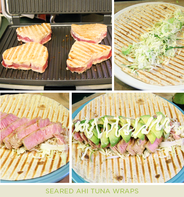 How To Make Seared Tuna Wraps