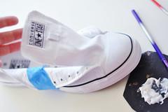 Glitter Sneaker DIY - 2