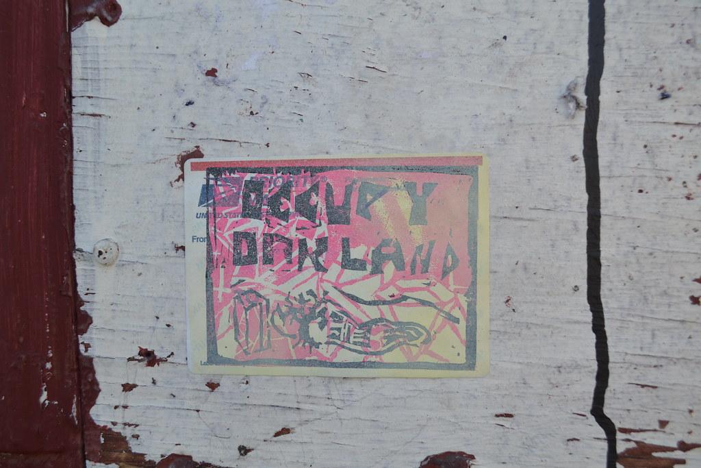 Occupy Oakland, Street Art, Graffiti, Oakland, Wallstreet