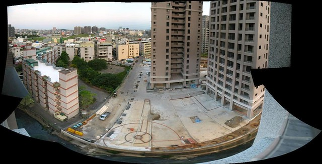 View from Ayi's balcony