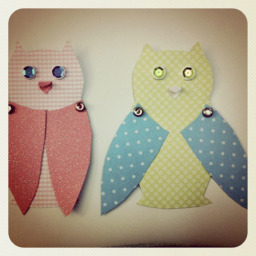 Paper Owls – Cloth Owls