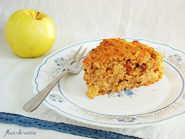 яблочный кекс к завтраку 1