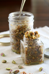 Baklava Style Walnut Butter-1 (Sonia! The Healthy Foodie) Tags: food breakfast recipe healthy toast walnut honey butter snack pistachio baklava cardamom cleaneating