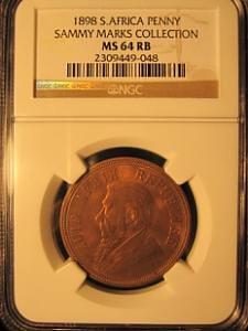 1898 Sammy Marks Penny
