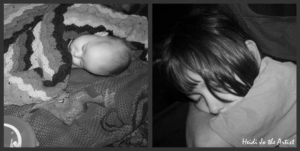 Sleepy Heads Collage