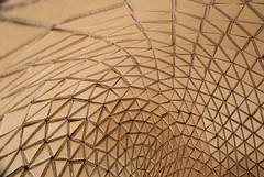 Radiolarian Sofa (LAZERIAN DESIGN) Tags: chair crystals sofa cardboard facets beehives cardboardfurniture richardsweeney lazerian liamhopkins