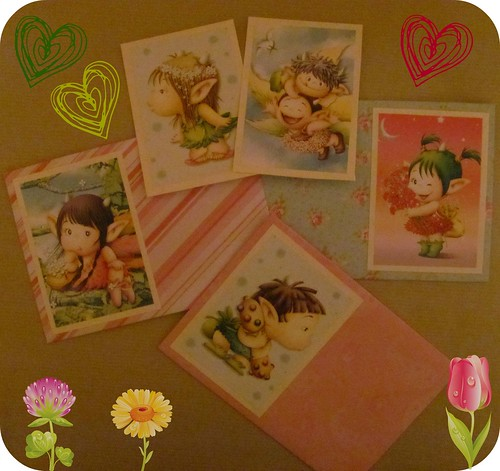 Flowery Envelopes 005