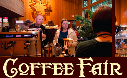 November 5-6, 2011: Coffee Fair at World Forestry Center - Coffee Tasting, Learn To Brew Perfect Cup