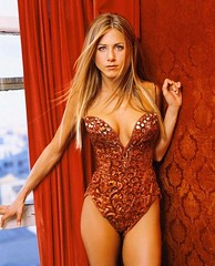 Jennifer Aniston (Katz2033) Tags: red wallpaper woman hot sexy window beautiful sparkles shiny apartment photoshoot legs maroon gorgeous curtain suit condo mature bikini american actress older actor sultry bathing jewels swimsuit sparkly jenniferaniston distinguished embroidering