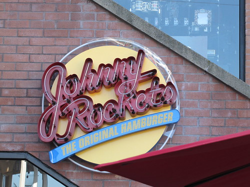 Johnny Rockets on Cannery Row